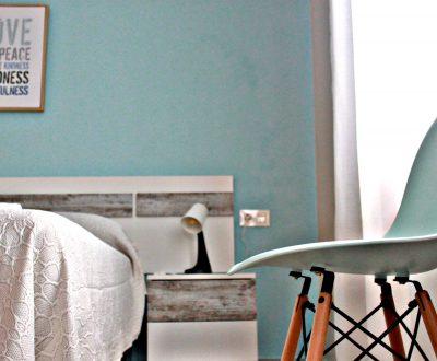 Detalles habitacion triple 1ª planta Casa Rural Bekirent . Bocairent (Valencia)