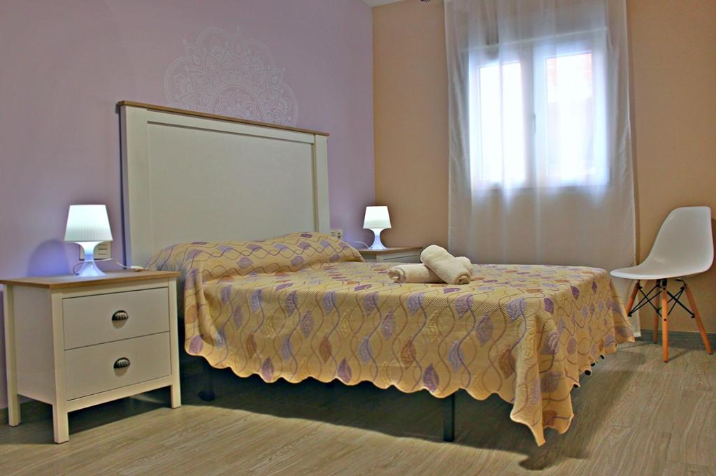 Habitación doble 2ª planta Casa Rural Bekirent. Bocairent (Valencia) 3